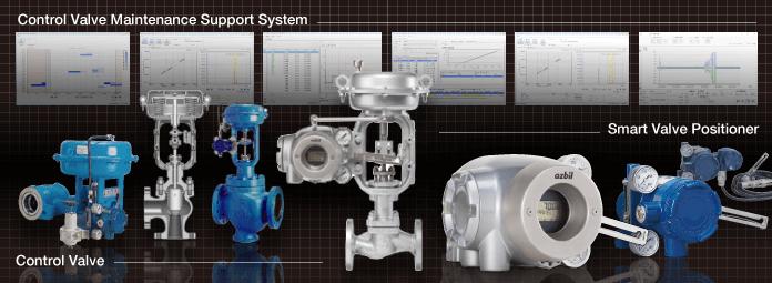 Control Valves and Actuators | Products | Azbil Corporation